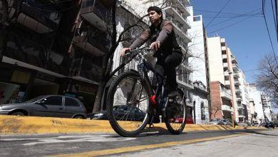 Photo of La bicicleta gana terreno con la restricción vehicular en el centro porteño