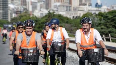 Photo of Recorrida en bicicleta por el Viaducto Mitre