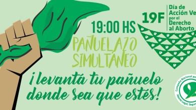 Photo of #19F Día de Acción Verde por el Derecho al Aborto