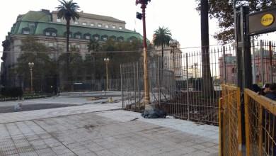 Photo of Se debatirá la implementación de rejas en la Plaza de Mayo