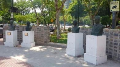 Photo of Homenajes a Néstor Kirchner y a Raúl Alfonsín en la Comuna 6