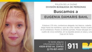 Photo of La Policía de la Ciudad solicita colaboración en la búsqueda de Eugenia Damaris Bahl