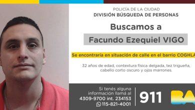 Photo of Búsqueda de persona // Facundo Ezequiel Vigo