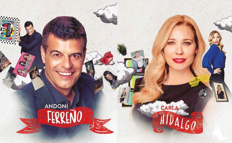 Andoni Ferreño y Carla Hidalgo llegan al Casyc con '¡Qué importan diez años!'