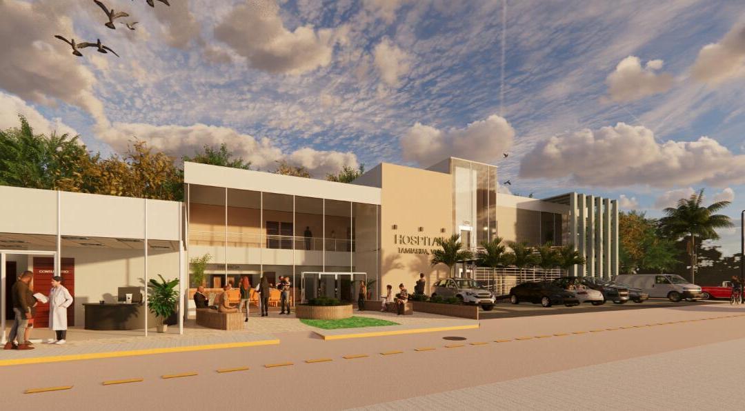 Busca Citlali mejorar la infraestructura hospitalaria de Tamiahua.