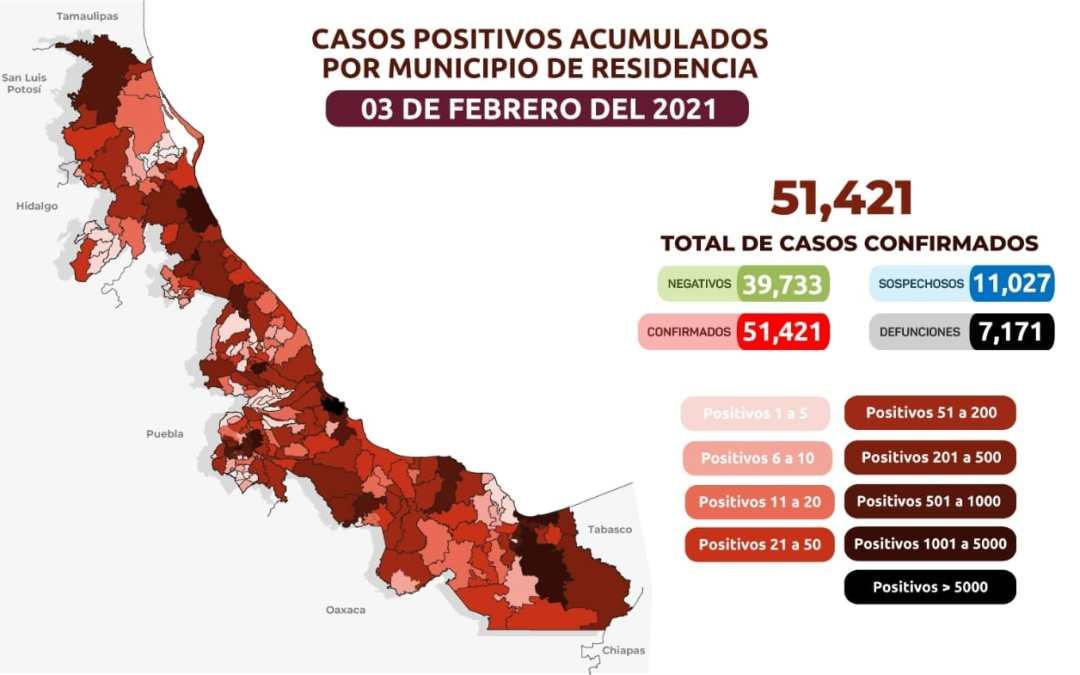 Alertan por incremento en casos activos de Covid 19 en Veracruz