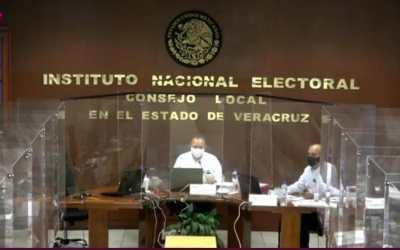Asegura INE que en Veracruz hay condiciones para salir a votar