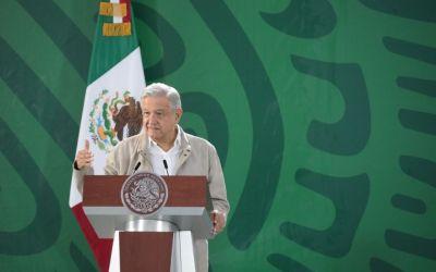Tiene que haber una clara línea divisoria entre la delincuencia y la autoridad, Veracruz cuenta con esa ventaja: AMLO