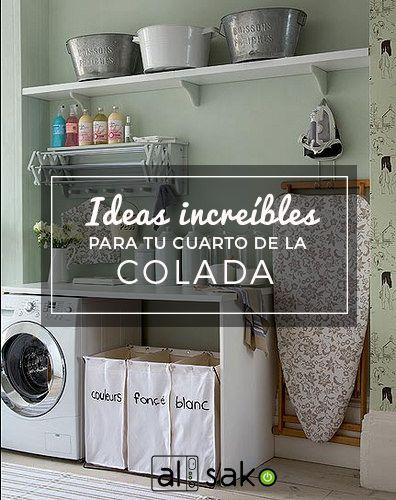 Lavadoras Ideas para tu cuarto de lavado  Noticias Alsako