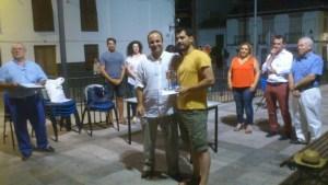 Luis Cabrera y alcalde XI Torneo Nocturno Villa de La Zubia