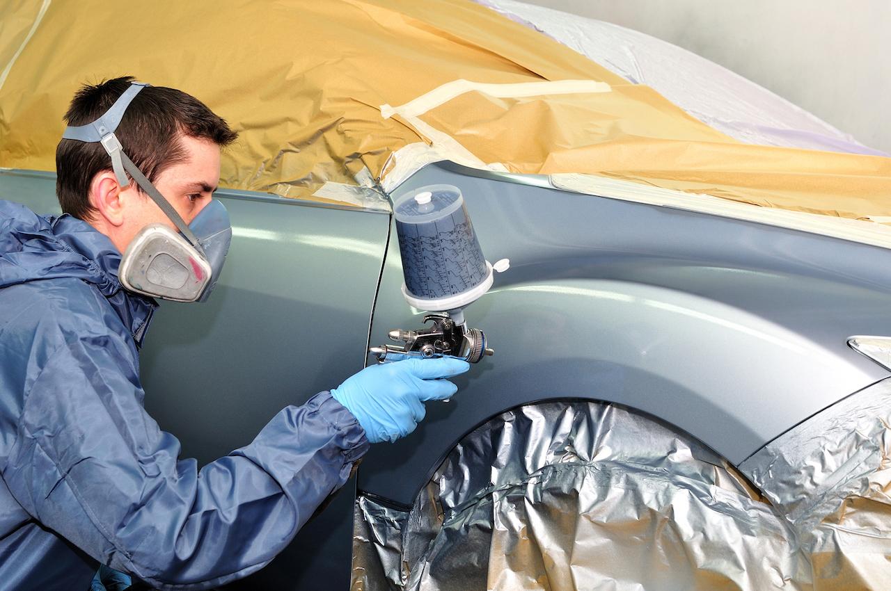 Pasos para pintar tu propio coche de forma correcta