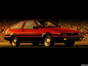 Fotos de Toyota Corolla SR5 Sport Liftback AE86 1984