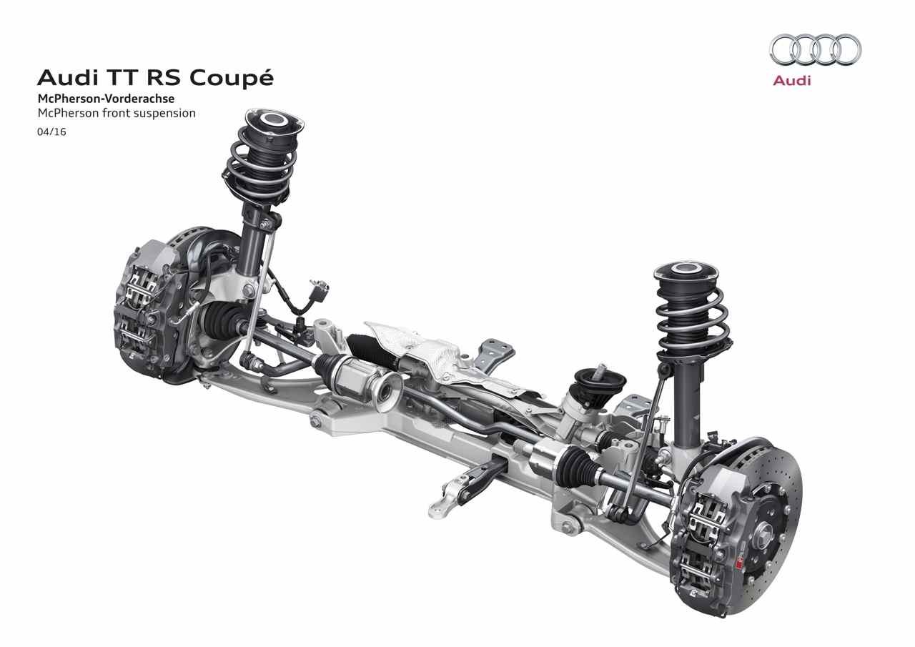 Audi Tt Rs 400 Cv Para El Mas Potente De La Historia