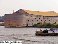 Milionário constroi réplica exata da Arca de Noé e quer leva-la  para os Jogos Olímpicos