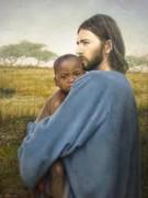 Modelo se converte após interpretar Jesus Cristo em ensaio fotográfico