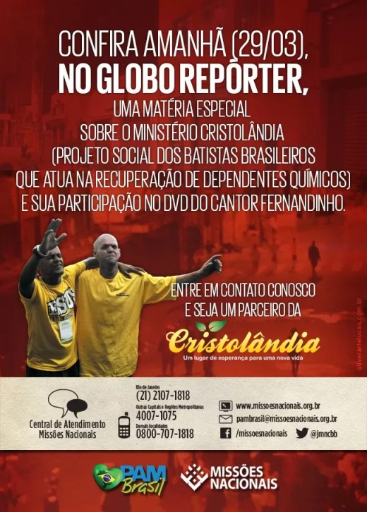 cristolandia - globo_reporter