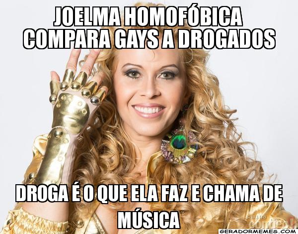 joelma homofobia