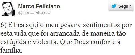 twitter marco Feliciano