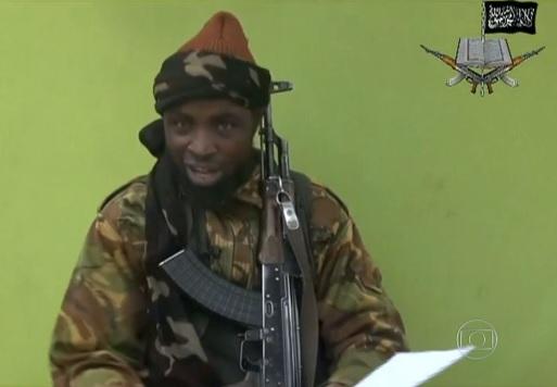 Abubakar Shekau, líder dos terroristas muçulmanos