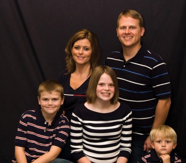 Família Burpo em 2003