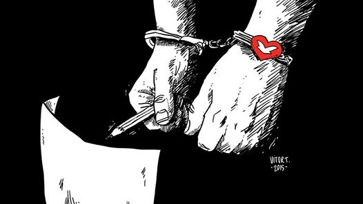 Cartunista protesta contra Igreja Universal