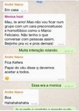 monica iozzi - whatsapp - marco feliciano
