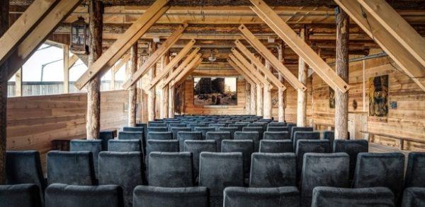 Sala de eventos da Arca de Noé holandesa