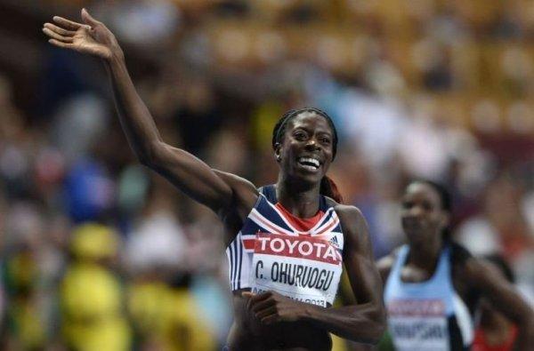 3 - Christine Ohuruogu