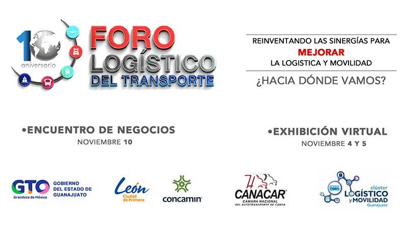 Realizará Canacar, en noviembre, Décimo Foro Logístico del Transporte