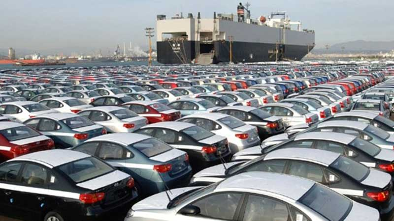 Importación de vehículos por Puerto de Manzanillo se mantiene a la baja