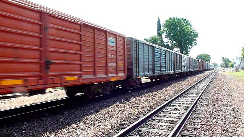 Ferroviarias anotan caída de 4,5% en manejo de carga entre enero y noviembre