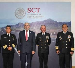 Transfieren oficialmente puertos y marina mercante de la SCT a Semar