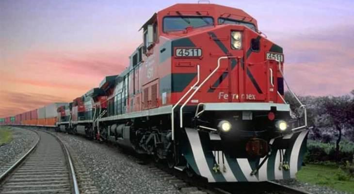 Se recupera poco a poco la carga ferroviaria de México