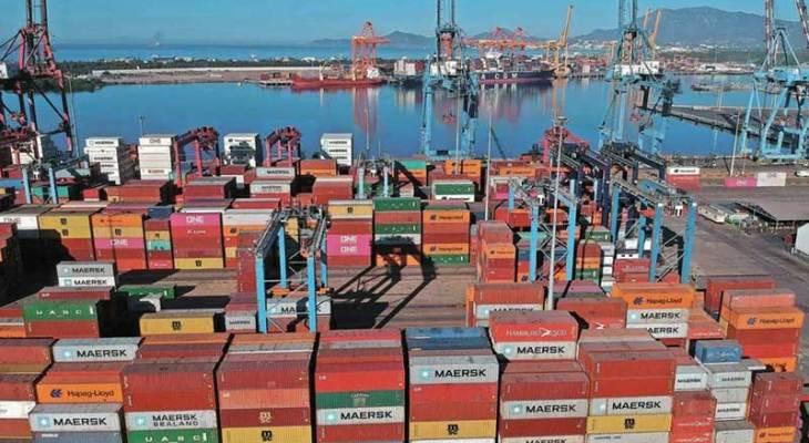 Puertos elevan carga a 5,7% a agosto de 2021