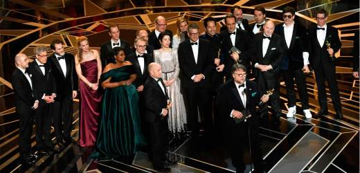 Oscars 2018: 'La Forma del Agua' ganó como Mejor película