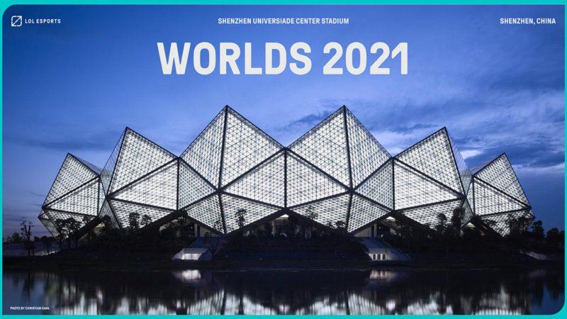shenzen will host Worlds 2021 final