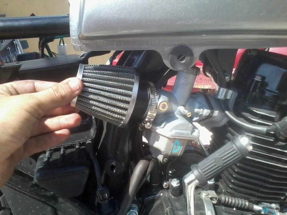 moto filtro