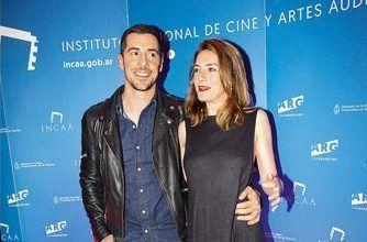 Esteban Lamothe y su mujer, Julieta Zylberberg.