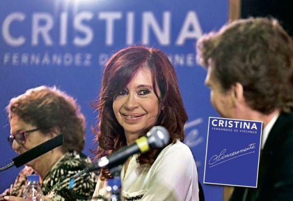 """""""Sinceramente"""" llega a Europa: el libro de Cristina se publica en España"""