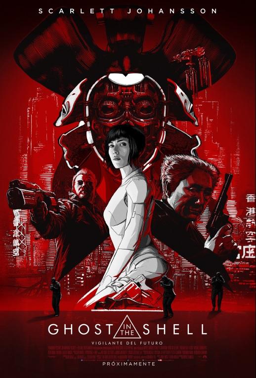 """NUEVO POSTER DE """"GHOST IN THE SHELL: VIGILANTE DEL FUTURO"""" 3"""
