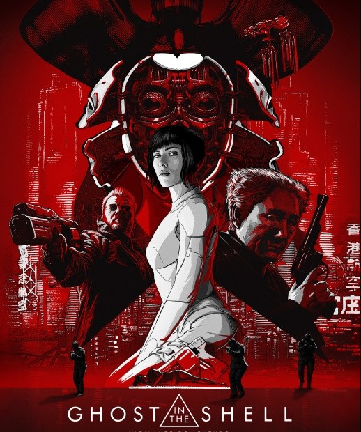 "NUEVO POSTER DE ""GHOST IN THE SHELL: VIGILANTE DEL FUTURO"" 1"