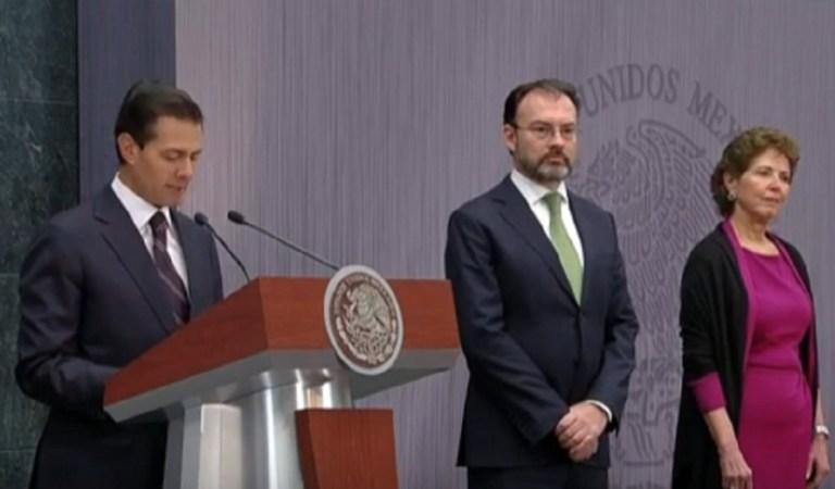Absurdas, inconsistentes y temerarias, así califica Luis Videgaray acusaciones de Lozoya