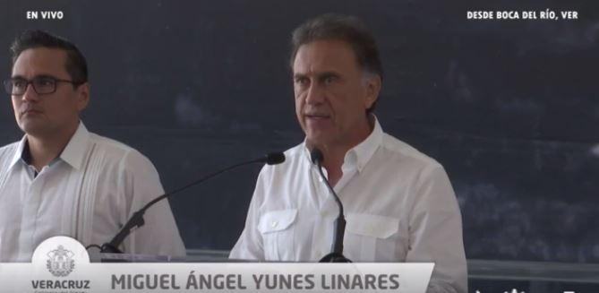 yunes conferencia de prensa Duarte