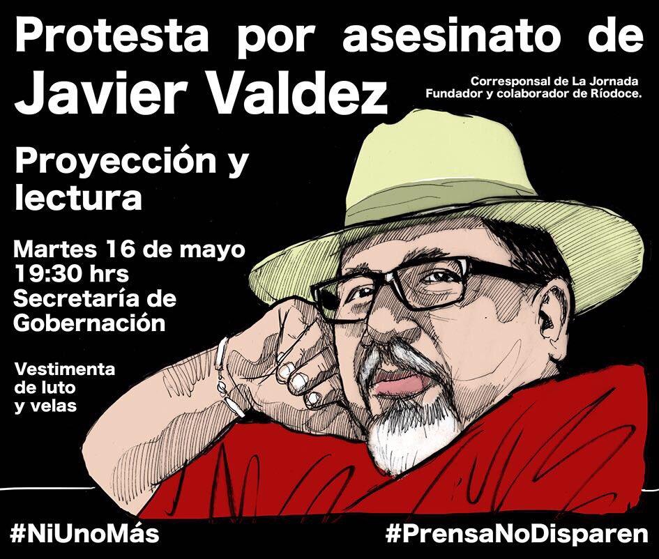 Marcha Javier Valdez
