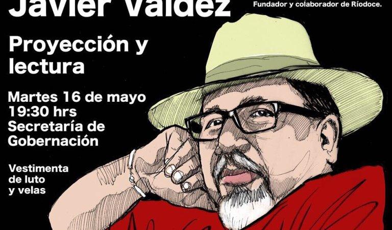 Convocatorias para pedir justicia para Javier Valdez y otros periodistas asesinados