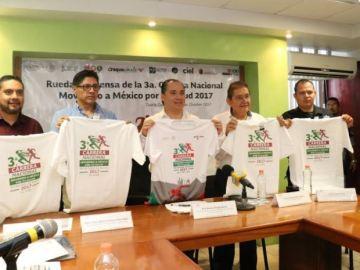 """Chiapas se suma a la 3ra. Carrera Nacional """"Moviendo a México por tu salud"""" 3"""