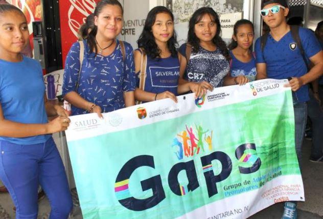 Semana Nacional de salud en la adolescencia Chiapas