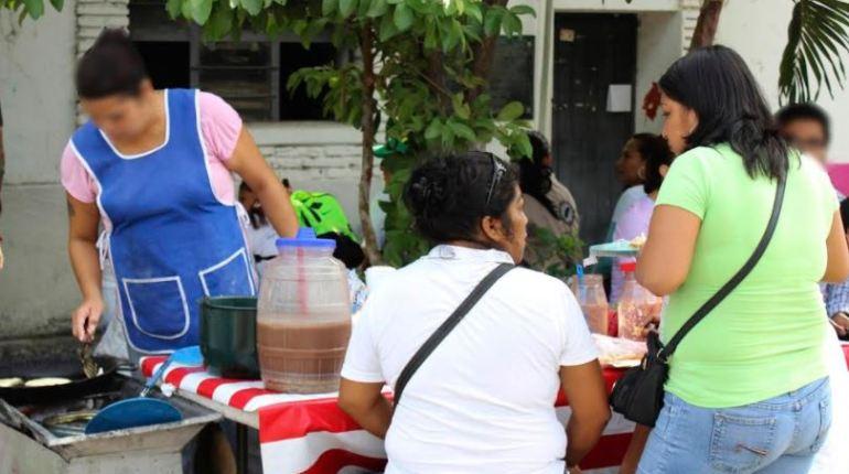 alimentos en via pública