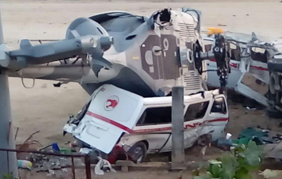 helicoptero Oaxaca