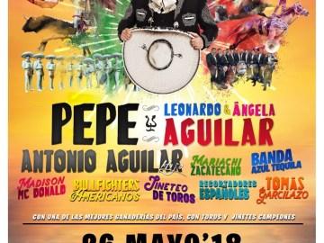 Pepe Aguilar y Familia: Jaripeo sin fronteras 11